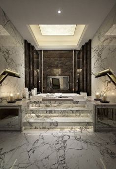 millionaire bathrooms, luxury bathrooms, expensive bathroom, marble bathroom, bathoom ideas, bathroom inspirations