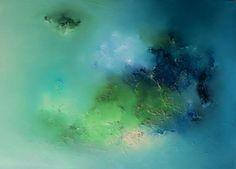 Abstrait vert bleu