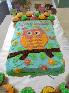 Owl Birthday Cake @Andrea / FICTILIS Bernard ;)