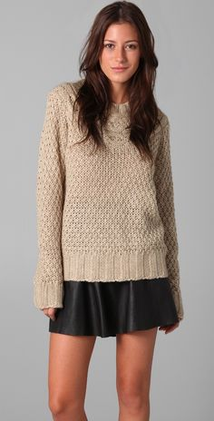 Lover Cable Knit Sweater | 15% off first app purchase with code: 15FORYOU