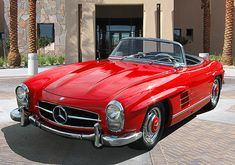 This will be my only Mercedes, and one of only a handful of European cars. I know - the gull-wing is supposed to be the ultimate, but I have a thing for convertibles, and the gull-wing looks like a pain in the neck. I'm also told that the engine is really a race engine, and doesn't operate well as a street car. On the other hand, it's beautiful, and Grace Kelly drove one in 'High Society.' Actually I don't think she drove anything, but they made it almost look like she was driving one of…