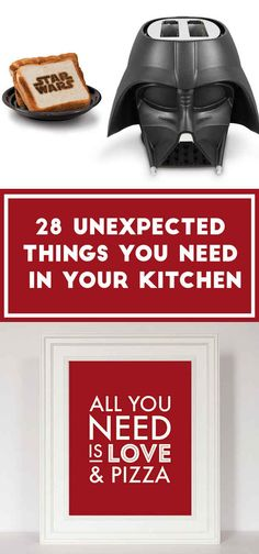28 Surprisingly Awesome Things For Your Kitchen....I NEED salt and pepper robots!