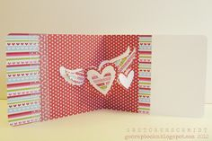 Sizzix Die Cutting Inspiration and Tips: Pop `N Cuts Love Card