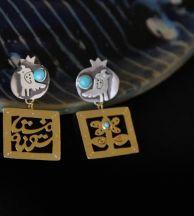 MKhazali  130 USD    18kGoldplatedsilverhandmadeearrings , handmade , persian , iran , poem , silver , carnelian , double sided , uniue , gold , 18k , Uniquehandmadejewelry , 18k , gold , uniue , 18kGoldplatedsilverhandmadeearrings , handmade , persian , iran , poem , silver , carnelian , double sided