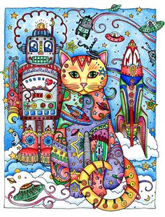 Creative Haven Creative Cats Colouring Book - Pesquisa Google