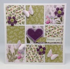 Card created using Hedgerow Kit, by Julie Hickey www.craftworkcards.com