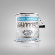 Dekorační třpytkový nátěr GLITTER