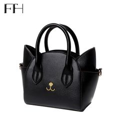 Famous Design lovely women's leather top-handle shoulder bags female cute Cat Messenger handbags lady small totes wonderful gift♦️ SMS - F A S H I O N 💢👉🏿 http://www.sms.hr/products/famous-design-lovely-womens-leather-top-handle-shoulder-bags-female-cute-cat-messenger-handbags-lady-small-totes-wonderful-gift/ US $10.98