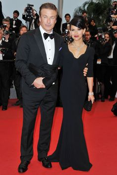 Alec Baldwin & Hilaria Thomas at Cannes