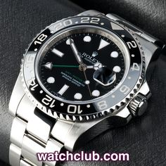 Rolex GMT-Master II - Box & Papers REF: 116710LN | Year Dec 2008 - In superb condition, this Rolex GMT II is totally complete with its original box & UK stamped papers...This current model ref.116710LN features a scratchproof black ceramic bezel and is powered by Rolex's chronometer rated automatic movement with GMT function. - for sale at Watch Club, 28 Old Bond Street, Mayfair, London