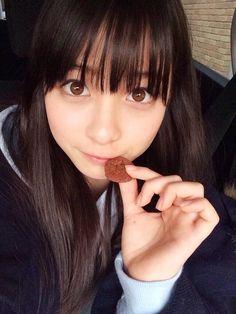 ひなまろ(@hinachan48)さん   Twitter Cute Asian Girls, Beautiful Asian Girls, Cute Girls, Pretty Girls, Hashimoto Kanna, Asian Eyes, Cute Japanese Girl, Japanese School, Asia Girl