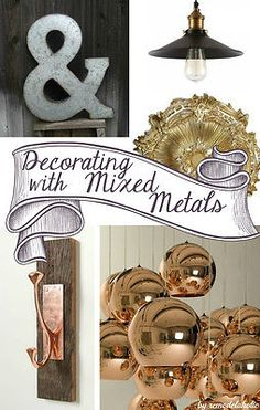 Decorating with mixe