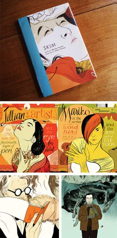 SKIM, graphic novel by Jillian & Mariko Tamaki.