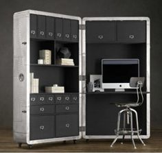 Amazing home offices that can be folded back when not in use
