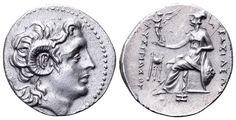 AR Drachm. Greek, Kings of Thrace, Lysimachos, Ephesos. 294-287 BC. 18mm, 4,24g, 2h. Thomson 170var. EF. Starting price (2.7.2016): 477 EUR. Unsold.