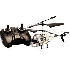 Oakland Raiders Helmet Copter