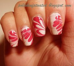 Water marbling. Really pretty easy and fun.