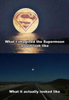 Capturing the supermoon…