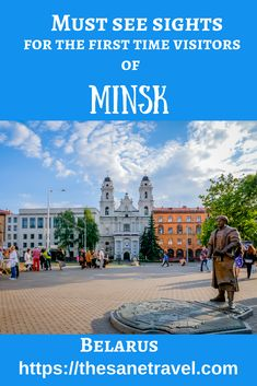 Minsk, the capital of Belarus is a big city with 2 million inhabitants and lots of things to see. Here are my top 7 things to do in Minsk for you. #Travel #Minsk #Belarus #traveltips #travelblog #Europetravel #Europe