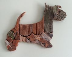 Made from repurposed weathered barn wood and scraps.