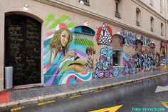 #StreetArt à Malaga - Graffitis Calle Vendeja