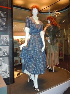 Lucille Balls I Love Lucy TV costume <3 I Love Lucy.