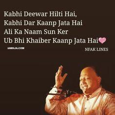 Nusrat Fateh Ali Khan,nfak lines,nfak shyri Iqbal Poetry, Sufi Poetry, Love Poetry Urdu, Nfak Quotes, Funny Quotes, Life Quotes, Hazrat Ali Sayings, Imam Ali Quotes, Mixed Feelings Quotes