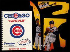 "1985 Chicago Cubs ""Triple Play"" Pinball Machine"