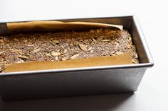 Keto Bread Seeded Loaf | #veganketo #ketobread #lowcarbbread #ketorecipes