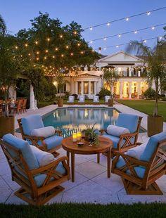 gorgeous backyard!