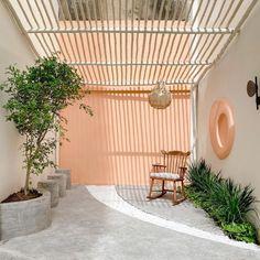 Farm Cafe, Desert Homes, Backyard Patio, Terrace, Dream Homes, Places, Outdoor Decor, Chill, House