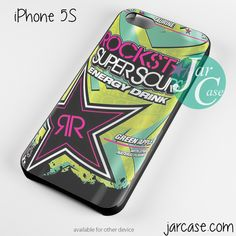 rockstar energy drink super sours Phone case for iPhone 4/4s/5/5c/5s/6/6 plus