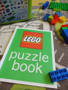 Kid n' Play // DIY Lego Puzzle Book {Downloadable}