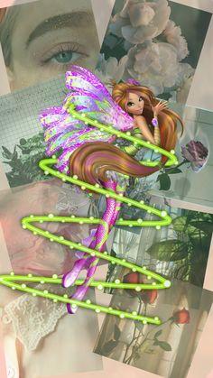 Les Winx, Flora Winx, Wallpaper Iphone Disney, Winx Club, Disney Love, Aesthetic Wallpapers, Mermaid, Bloom, Princess Zelda