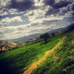 Beautiful Nature in the Kirmaşan Province, western Iran.