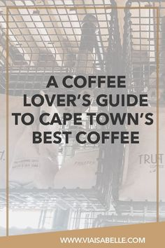If you're a lover of all things caffeine -- like me -- then you'll love checking out this handy guide to every coffee lover's favourite hobby in Cape Town! Click the link above to find your next cool hotspot when you're in the best city at South Africa.