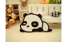 New to craftapplique on Etsy: Cute panda patch Animal Cartoon patches Badge patch Applique embroidered patch iron on patch sew on patch A6 (1.90 USD)