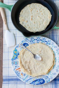 Crepes…or tortillas…or lasagna noodles (grain-free, paleo)