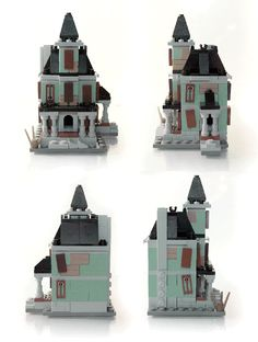 LEGO Ideas - Microscale Haunted House