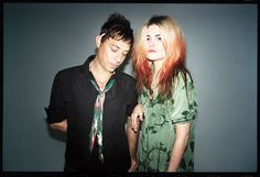 The Kills for Equipment's Spring/Summer 2013 - Jamie Hince and Alison Mosshart - ELLE