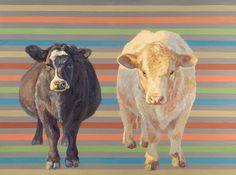 "Saatchi Art Artist Nancy Bass; Painting, ""Zoe and Captain   SOLD"" #art"