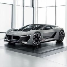 """Audi has revealed a new all-electric concept car inspired by the world of motorsport at the 2018 Pebble Beach Concours d'Elegance. Dubbed the e-tron"""", which refers both to the Pebble Beach venue used for its premiere and to the technological DNA it is […] Audi Concept, Supercars, Audi Supercar, Le Mans, Audi A7 Sportback, Automobile, Shooting Brake, Audi Sport, Mens Gear"""