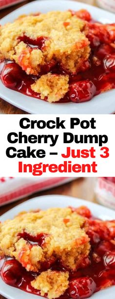 Crock Pot Desserts, Homemade Desserts, Delicious Desserts, Crockpot Dump Recipes, Slow Cooker Recipes, Cooking Recipes, Crock Pot Slow Cooker, Crock Pot Cooking, Tortellini Recipes
