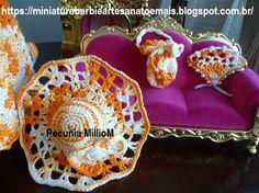 Vestido dA Bela e a Fera em Crochê Para Bonecas com Passo a Passo de Pecunia MillioM 9
