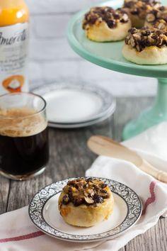 Pumpkin Pie Sticky Buns @FoodBlogs