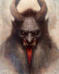 Krampus - coming soon to a Hunter Christmas Special!