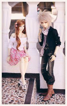 Him and Her by dollstars.deviantart.com on @deviantART #bjd #iplehouse #couple