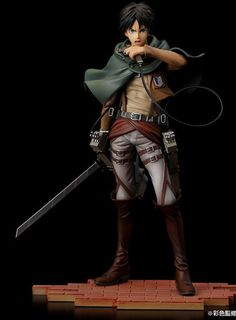 Brave-Act Attack on Titan 1/8th Scale Eren Yeager