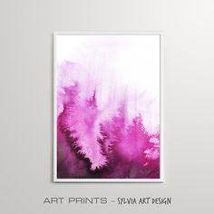 Watercolour Wall Art Download Watercolor Pink Abstract Pink Abstract, Printable Wall Art, Different Colors, Watercolour, Bedroom Decor, Posters, Artwork, Prints, Painting