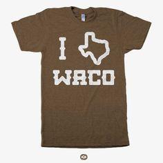I TX Waco tee from Congress Clothing.